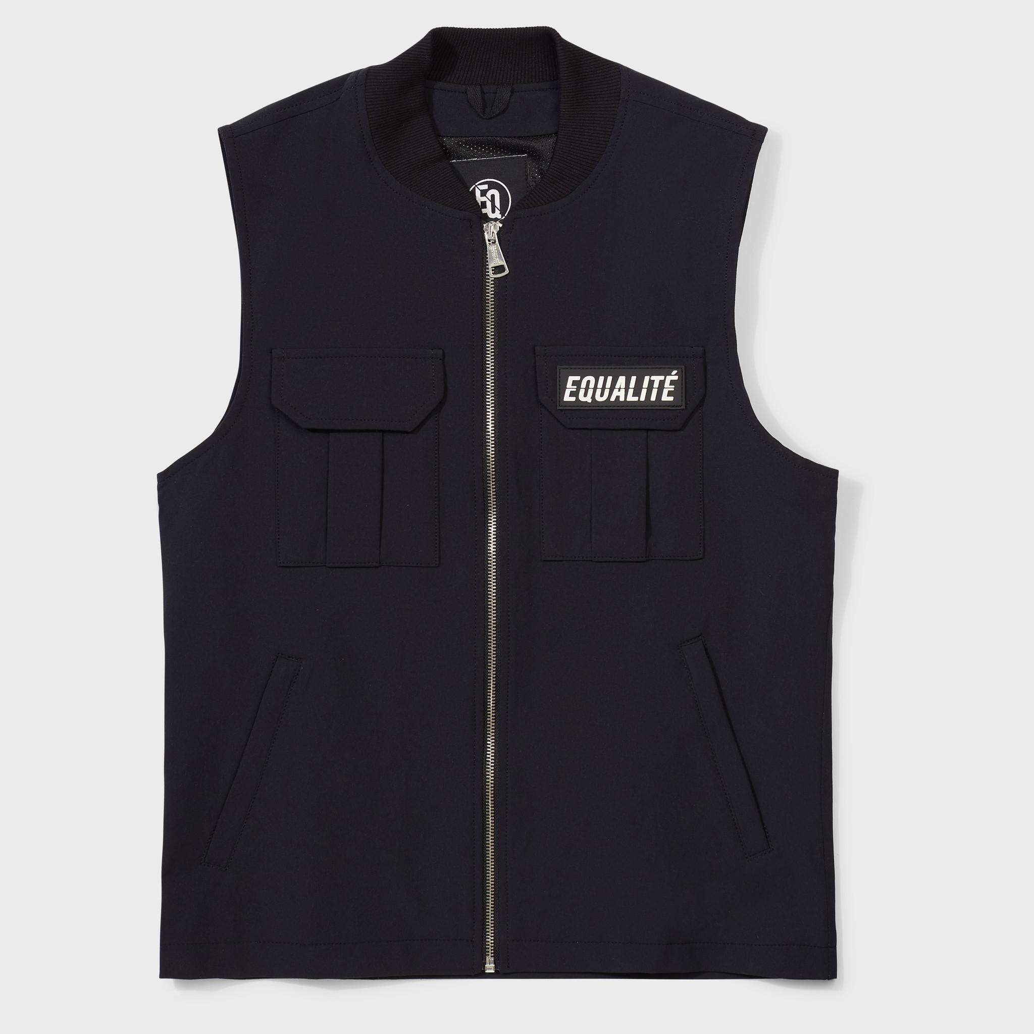 Cargo vest black-1