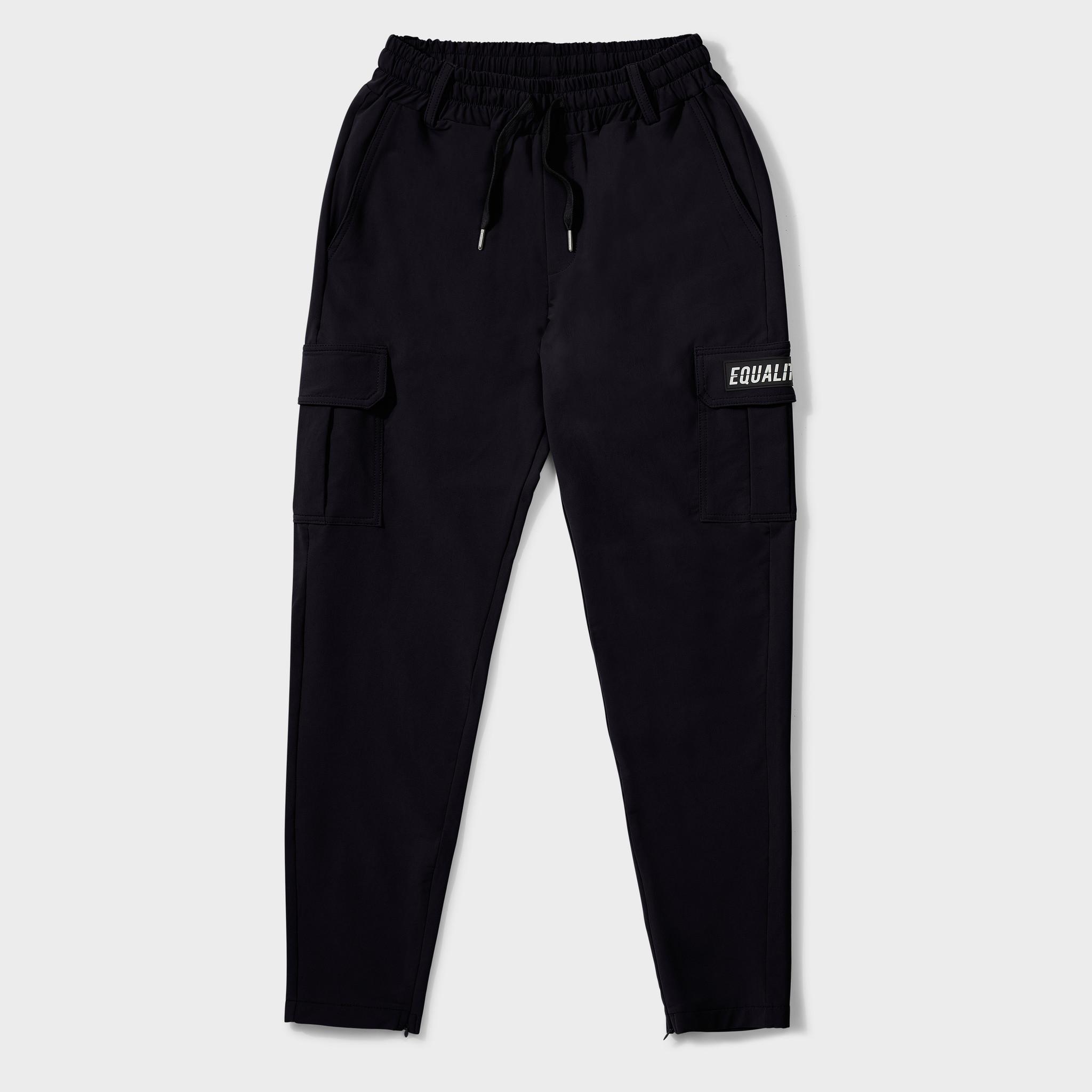 Cargo pants black-1
