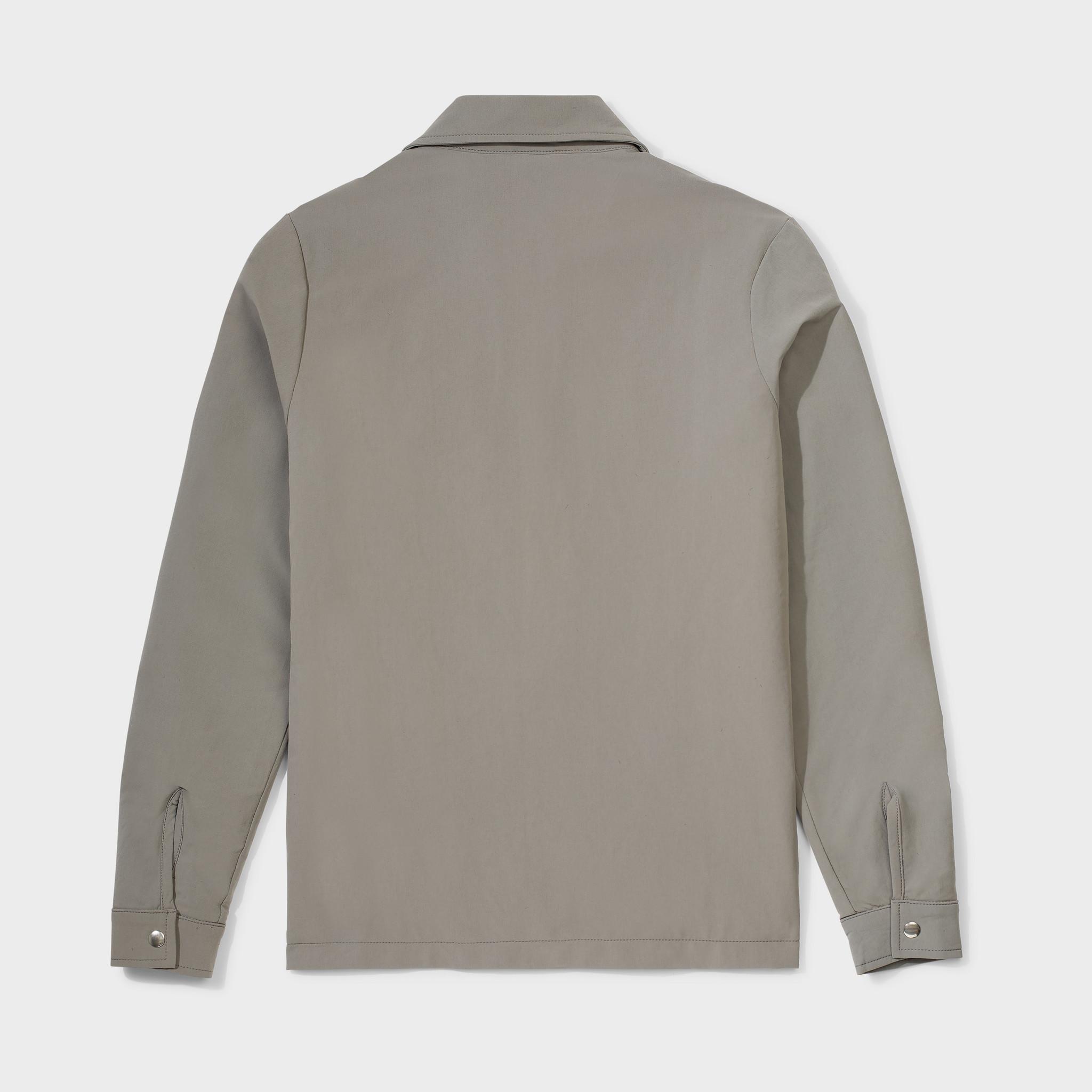 Cargo jacket olive-2