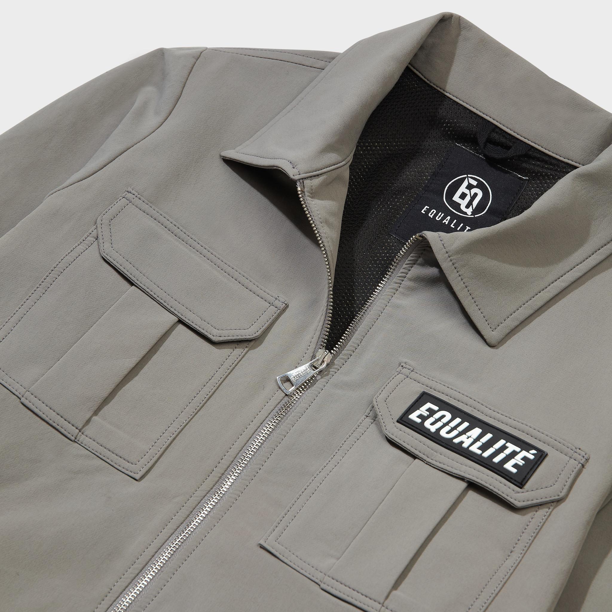 Cargo jacket olive-3