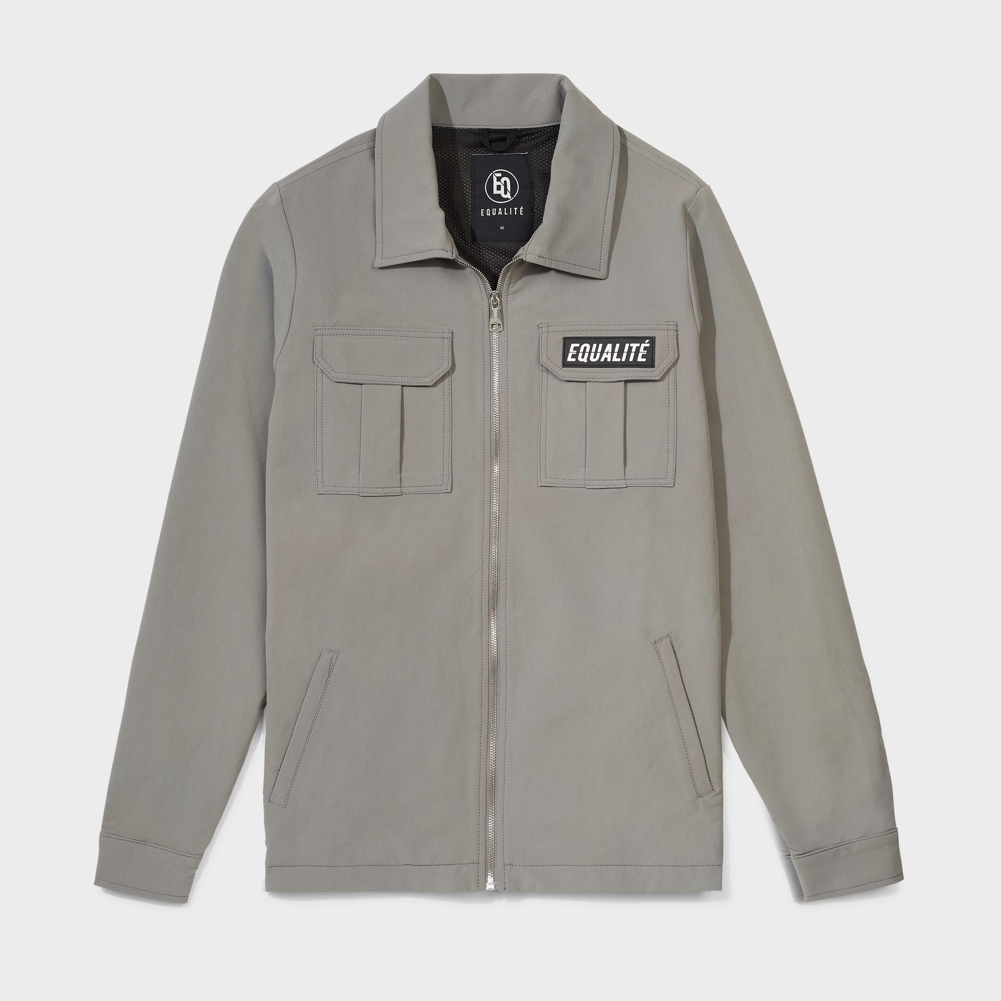 Cargo jacket olive-1
