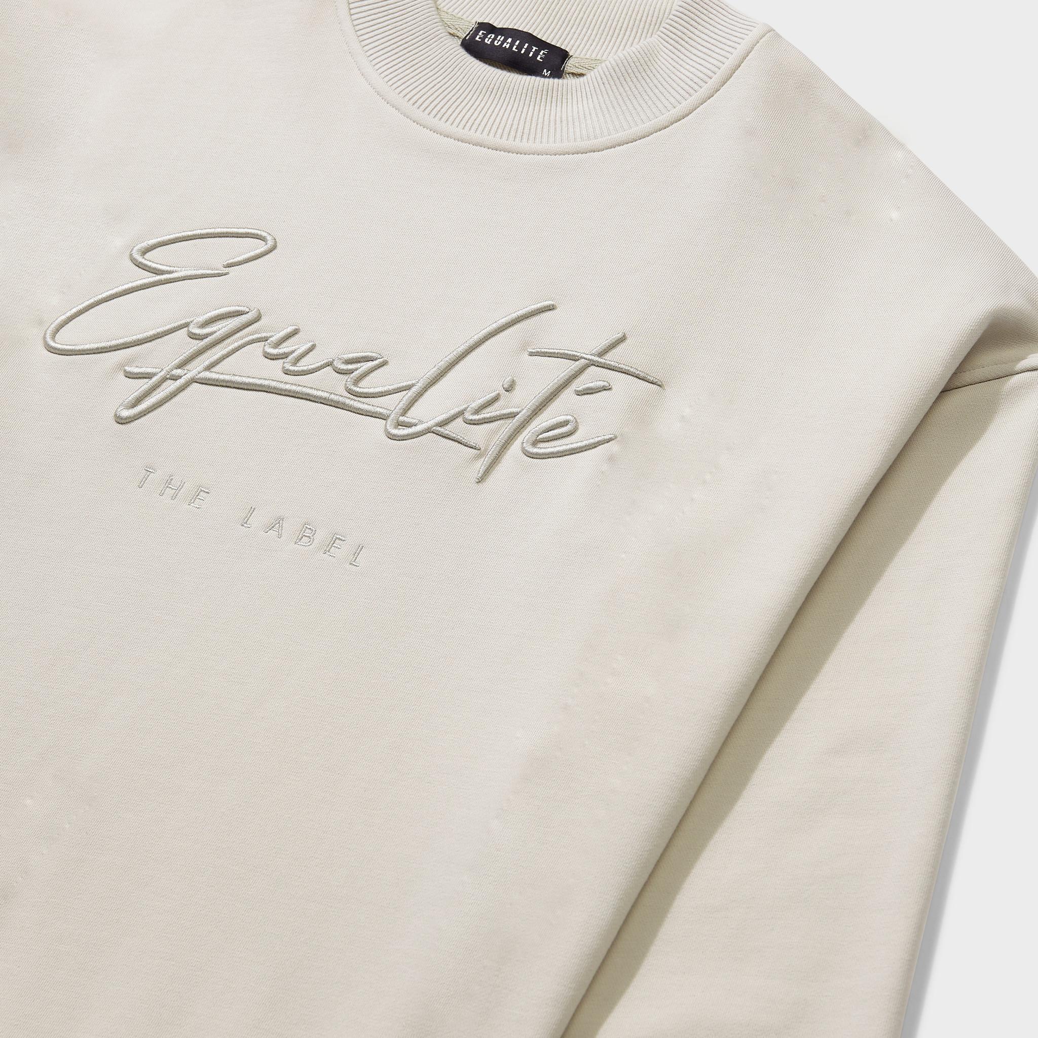 Wafi signature tracksuit beige-3