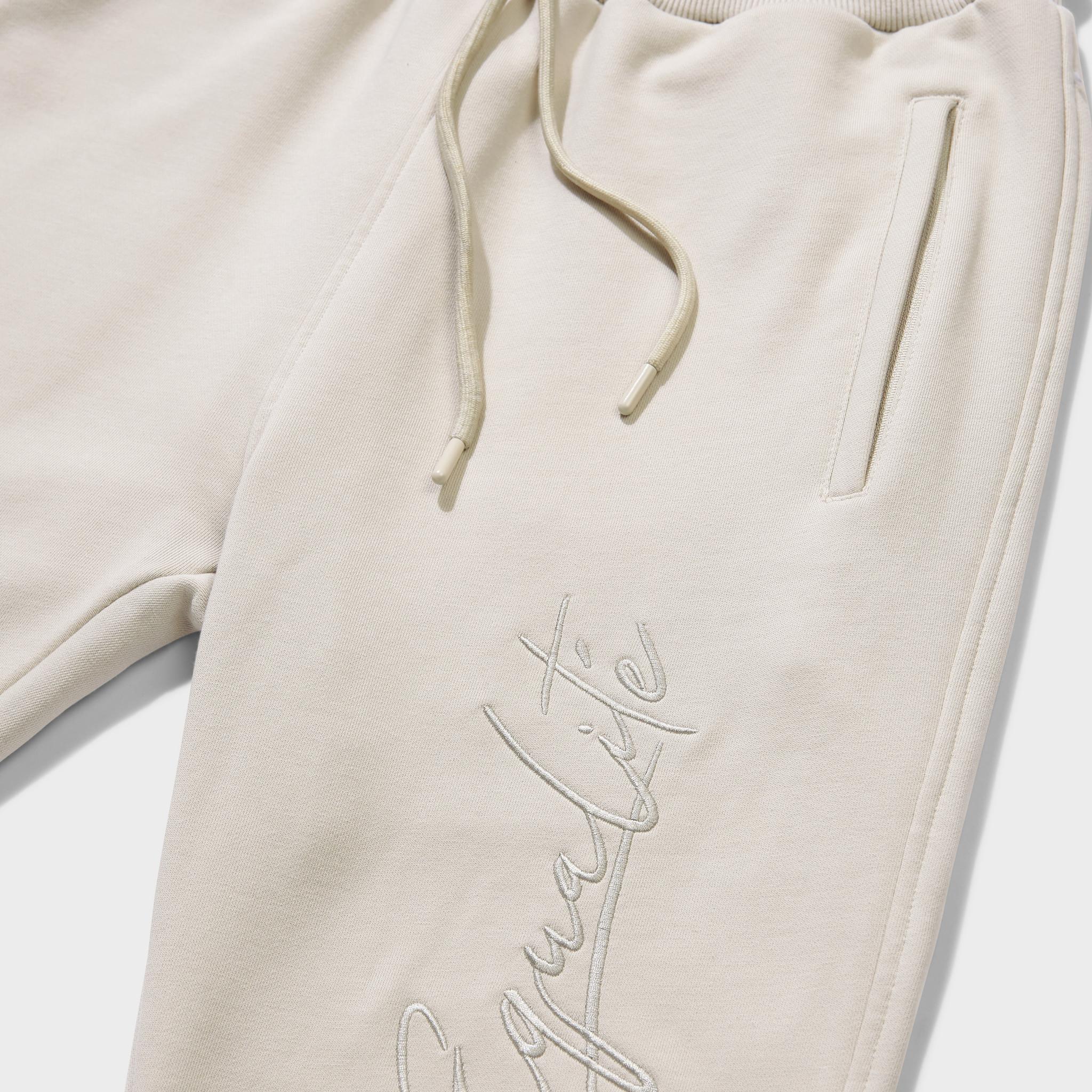 Wafi signature tracksuit beige-5