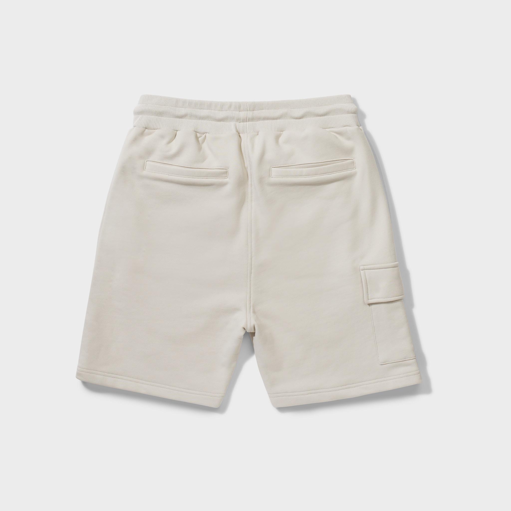 Wafi signature shorts beige-2