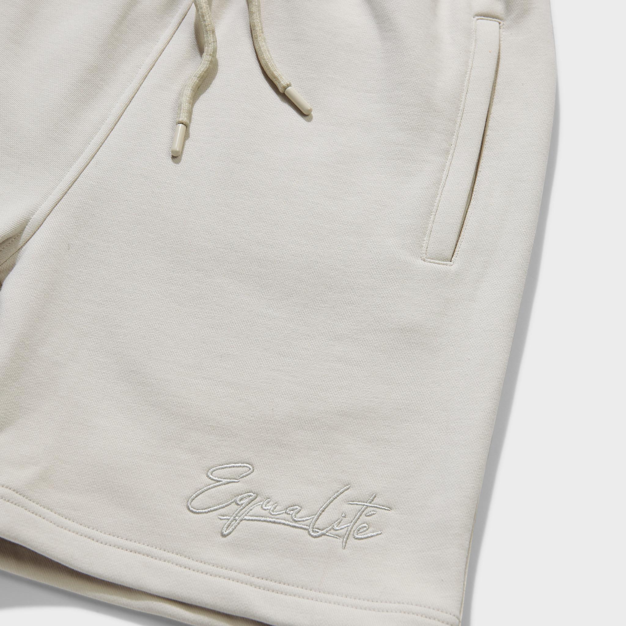 Wafi signature shorts beige-3