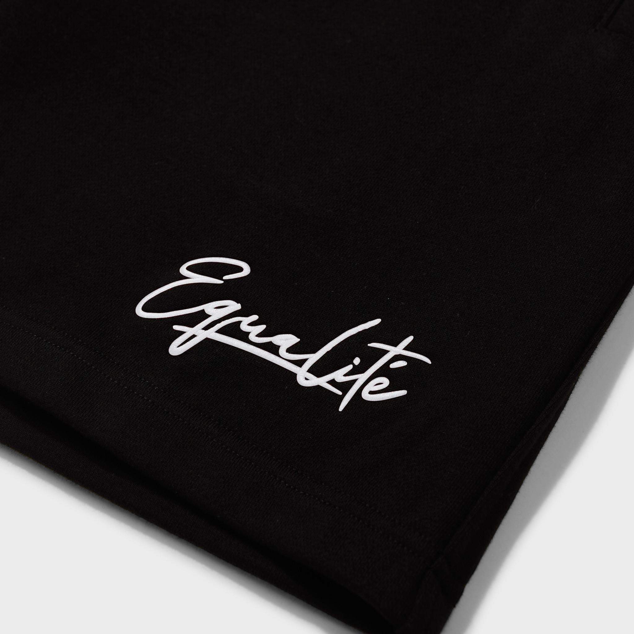 Wafi signature shorts black & white-3