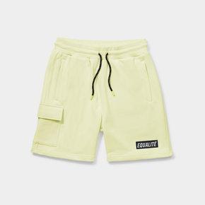 Travis shorts yellow