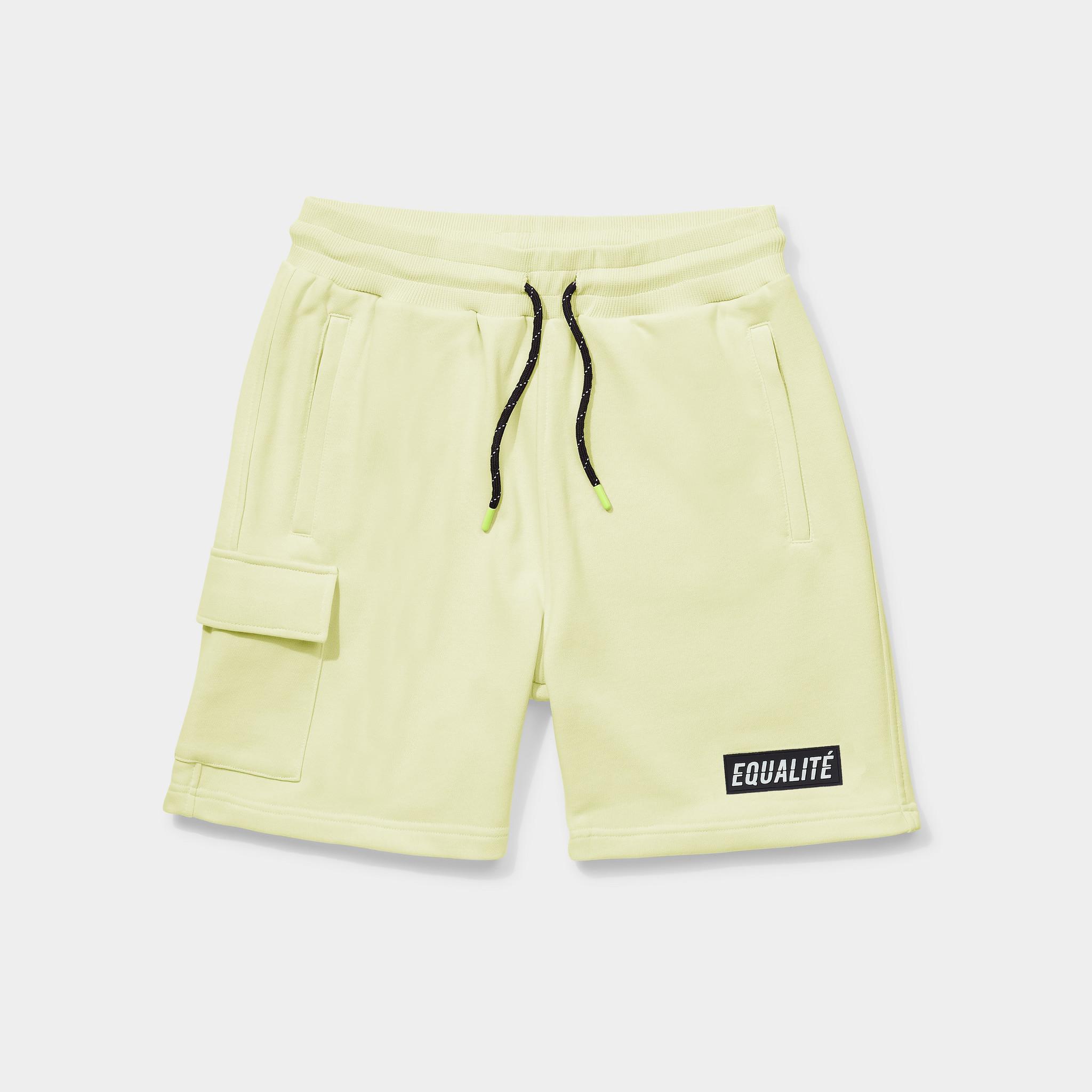 Travis shorts yellow-1
