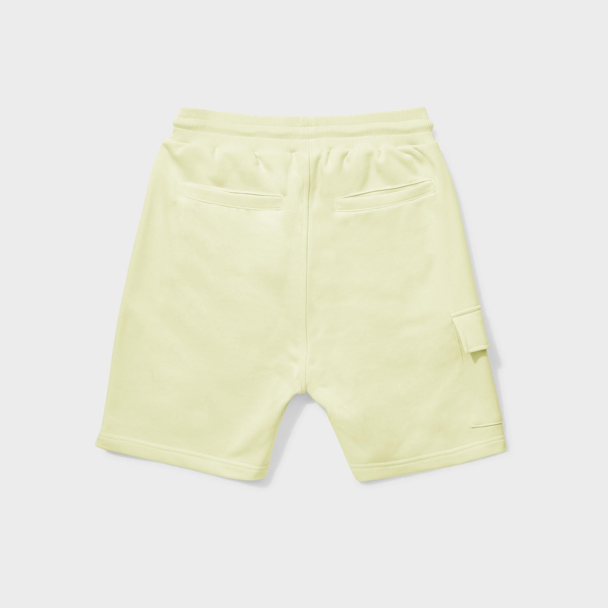 Travis shorts yellow-2