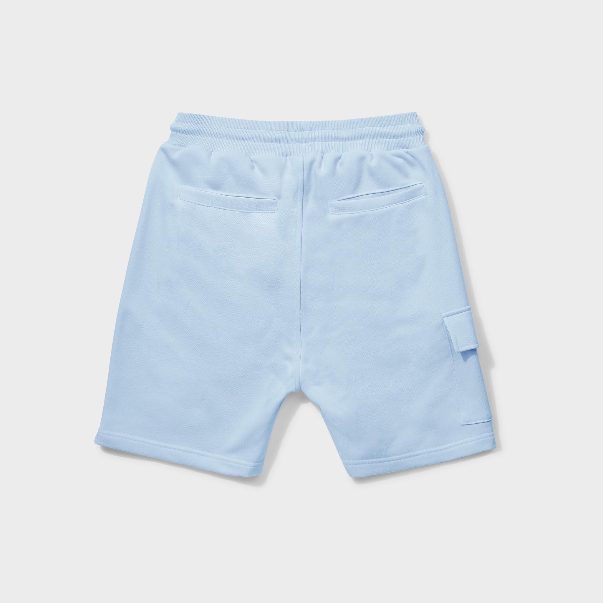 Travis shorts light blue-2