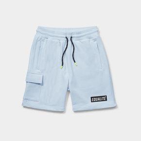 Travis shorts light blue