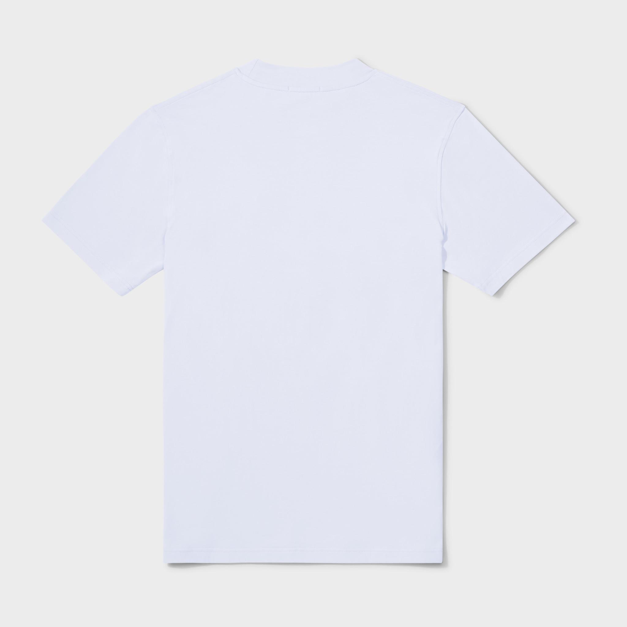 Wafi signature tee white & black-2