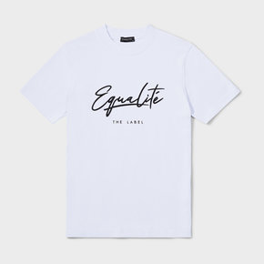 Wafi signature tee white & black