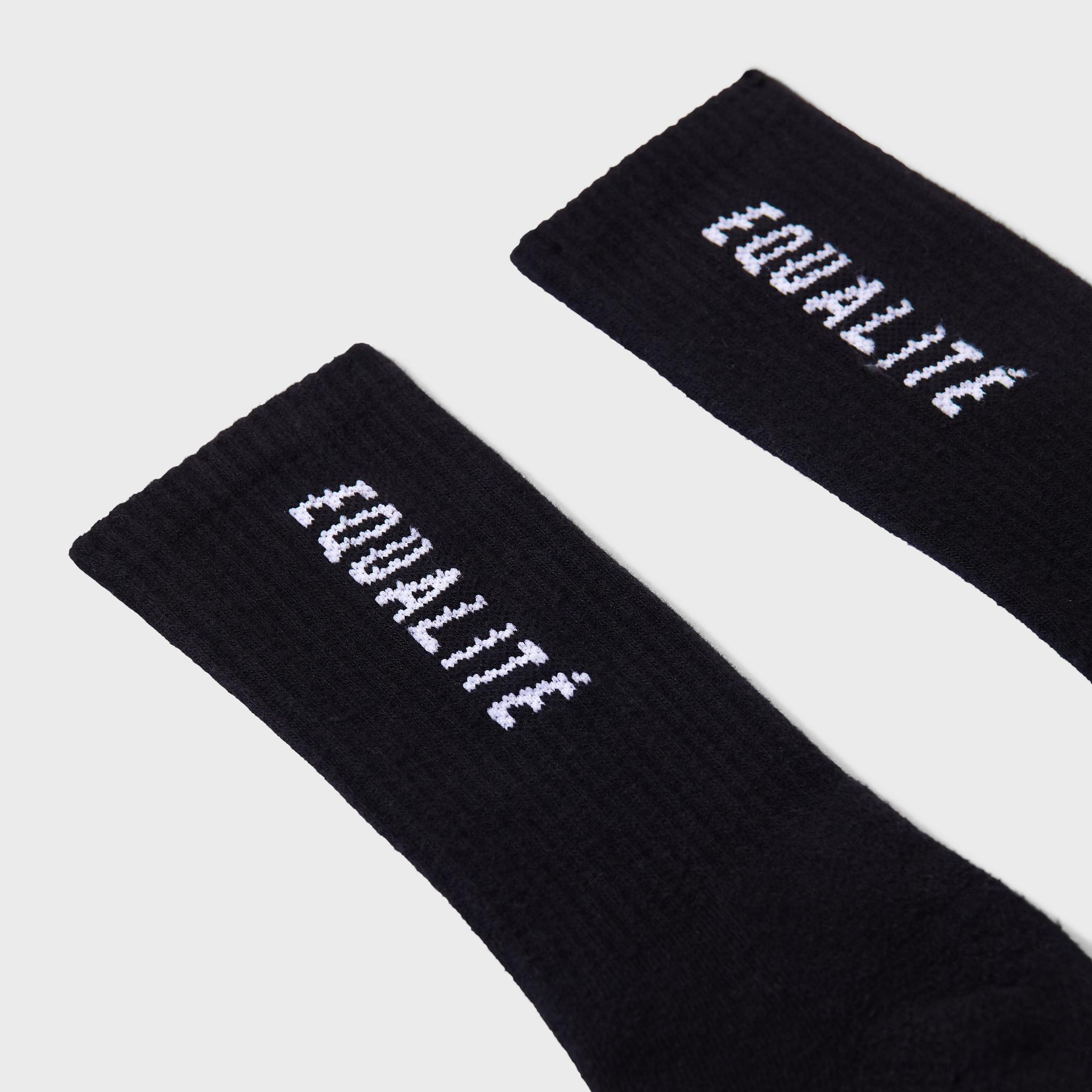 Equalité socks black   3 pack-2