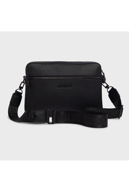 Dylan messenger bag  black