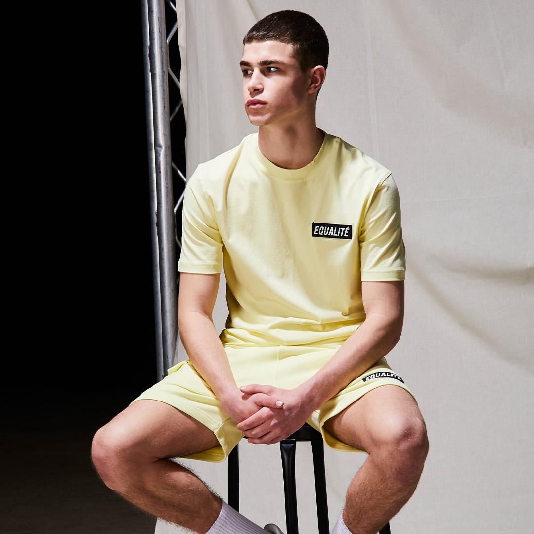 Travis tee yellow-4