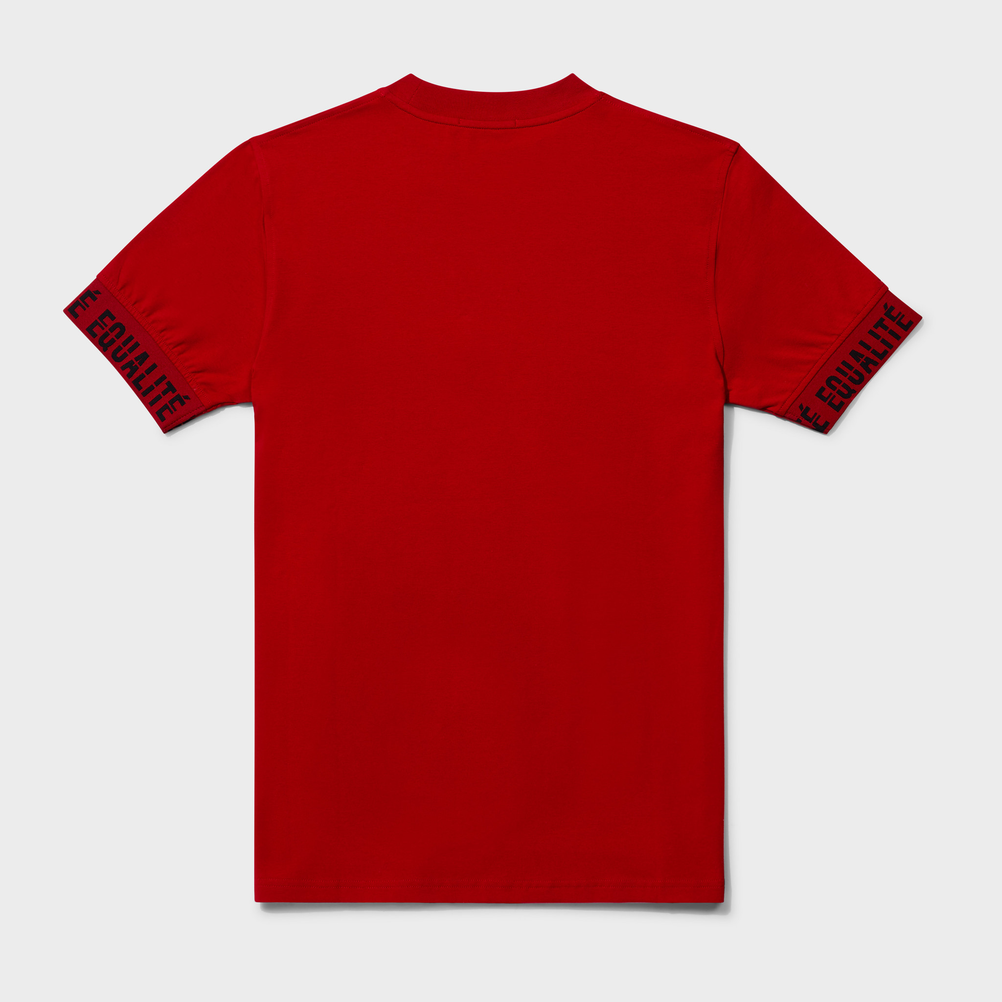 BAND TEE RED & BLACK-2