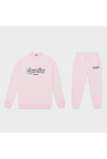 Moza tracksuit pink