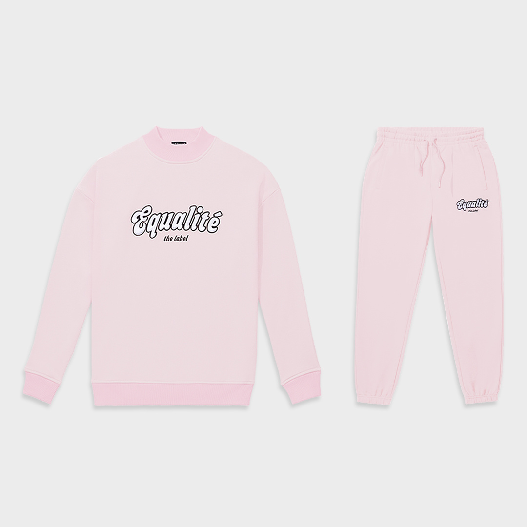 Moza tracksuit pink-1