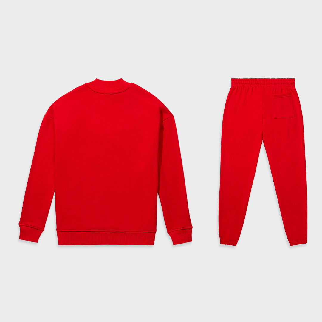 Moza tracksuit red-2