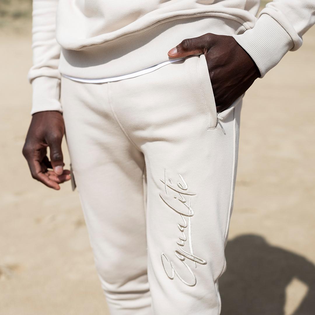 Wafi signature tracksuit beige-7