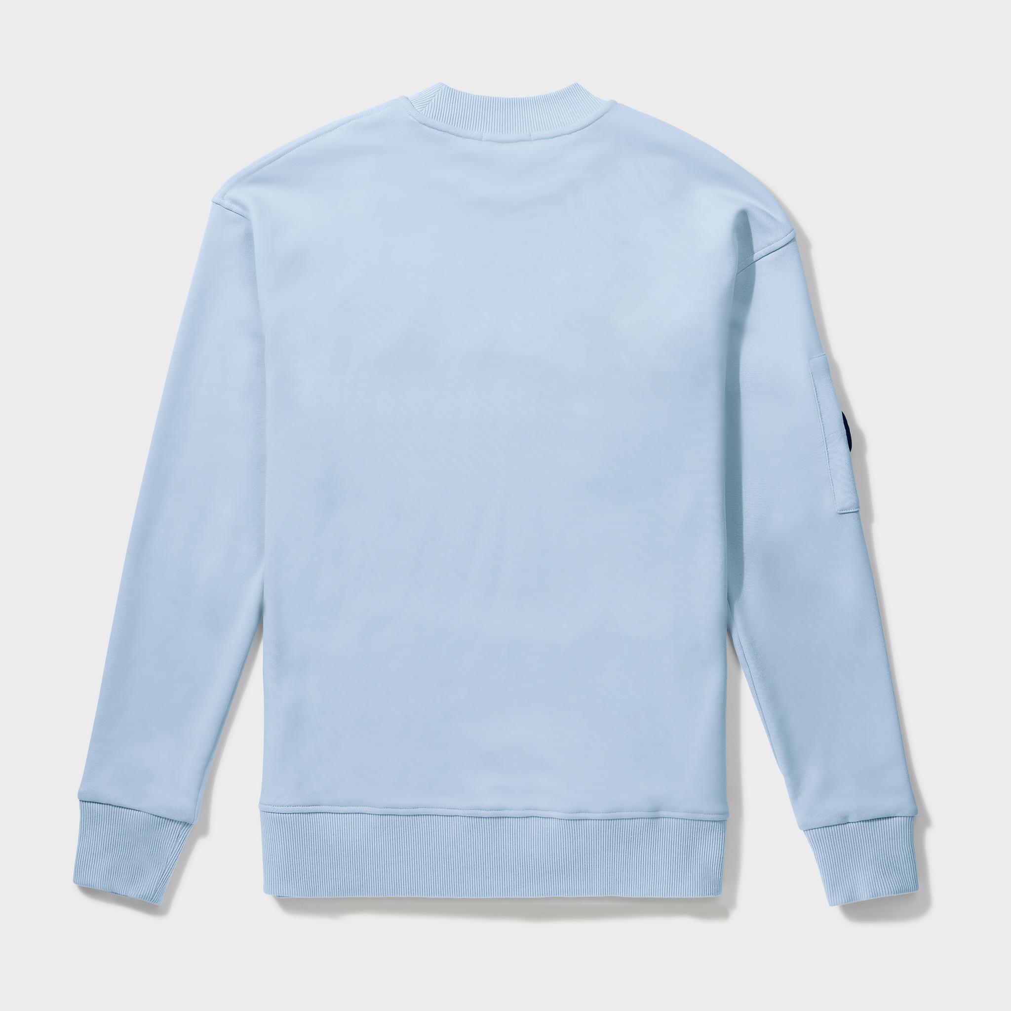 Wafi Signature Sweater Light Blue-2
