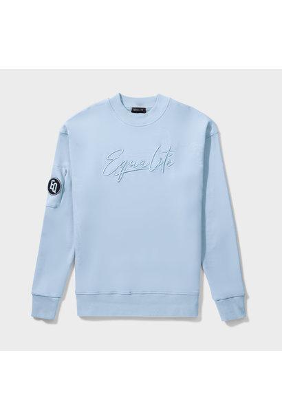 Wafi Signature Sweater Light Blue