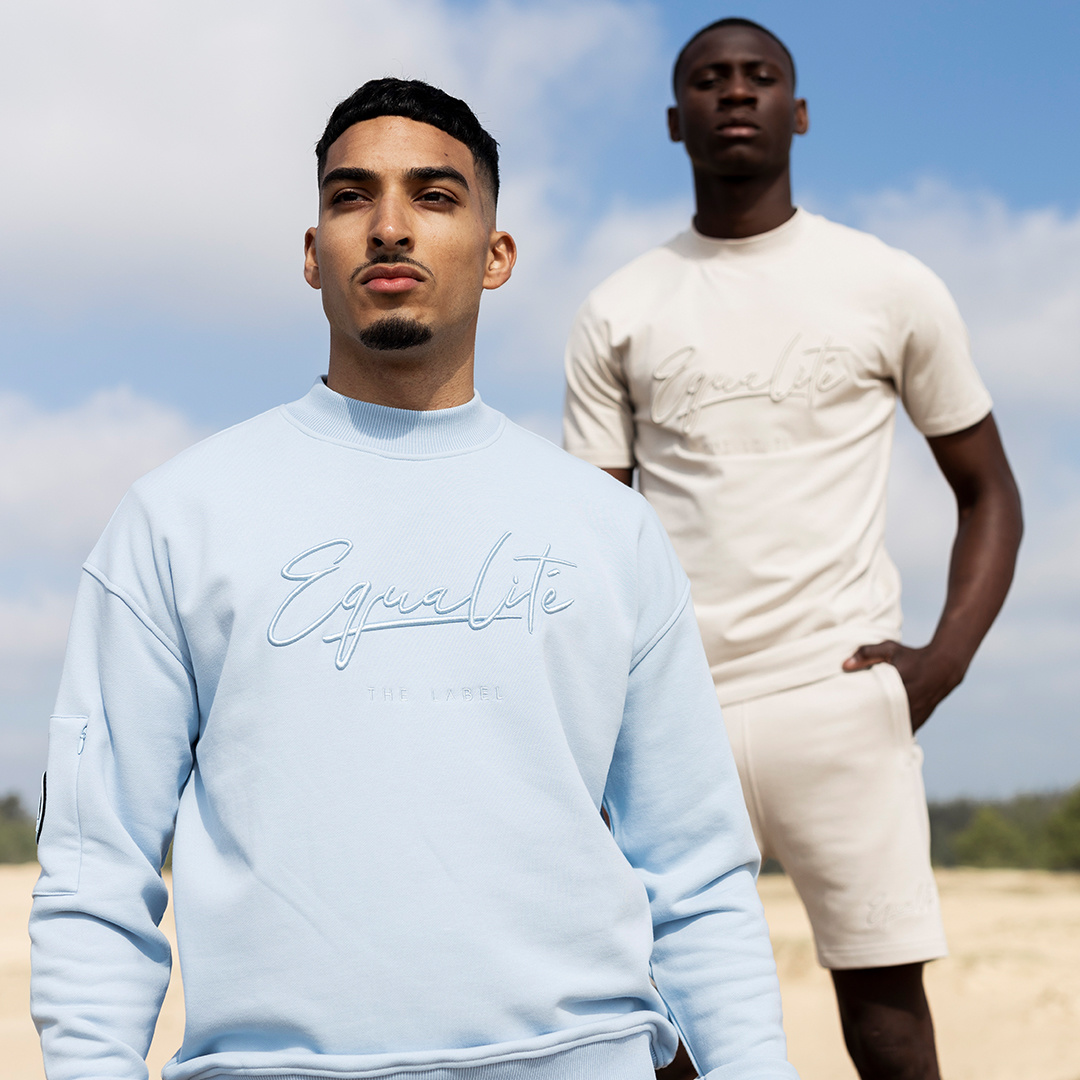 Wafi Signature Sweater Light Blue-5