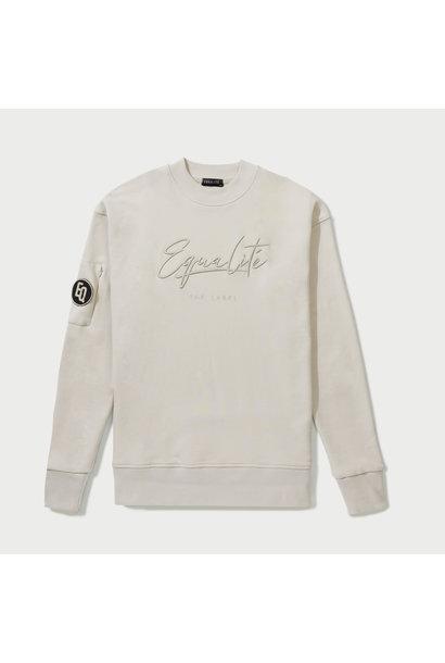 Wafi Signature Sweater Beige