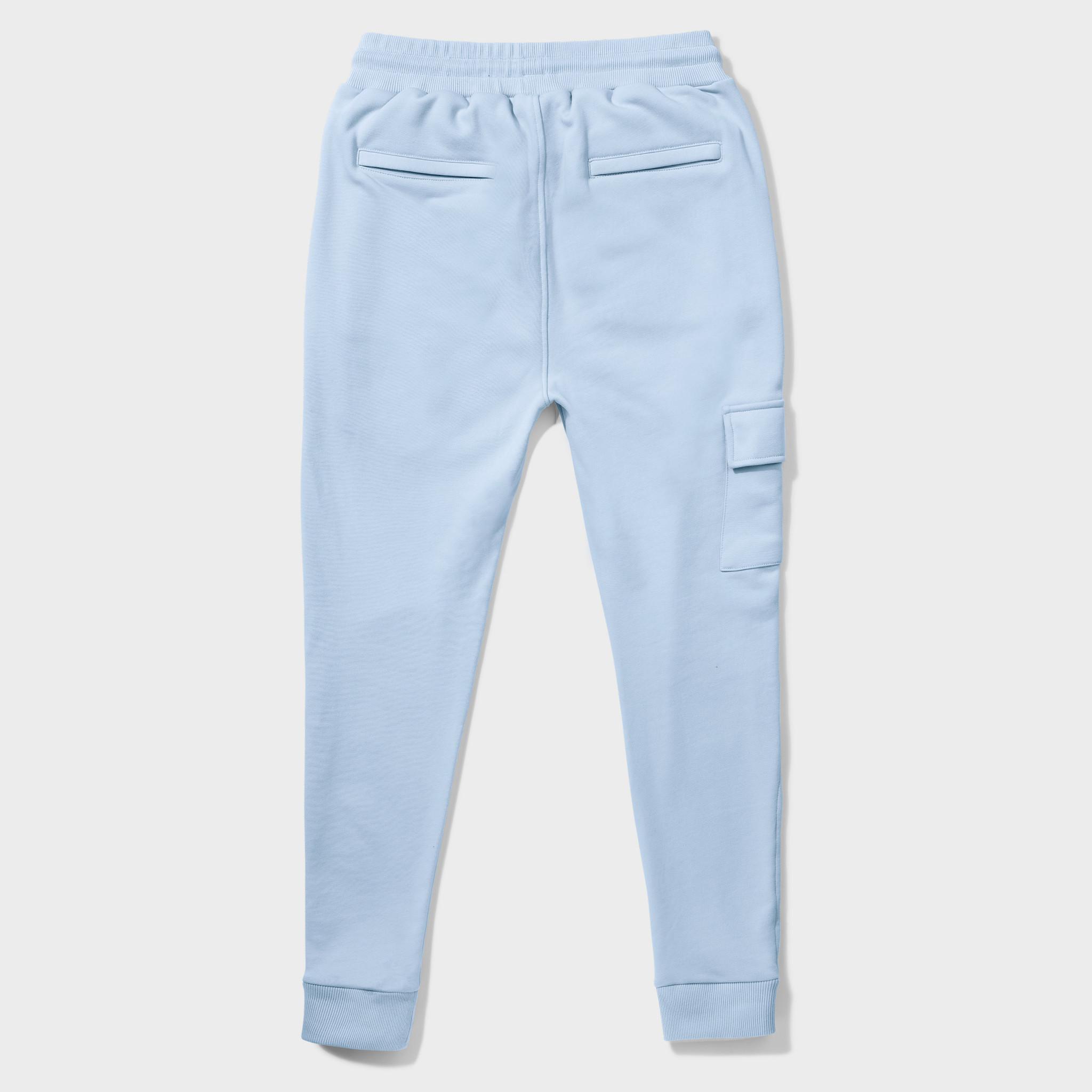 Wafi Signature Pants Light Blue-2