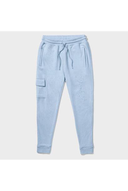 Wafi Signature Pants Light Blue