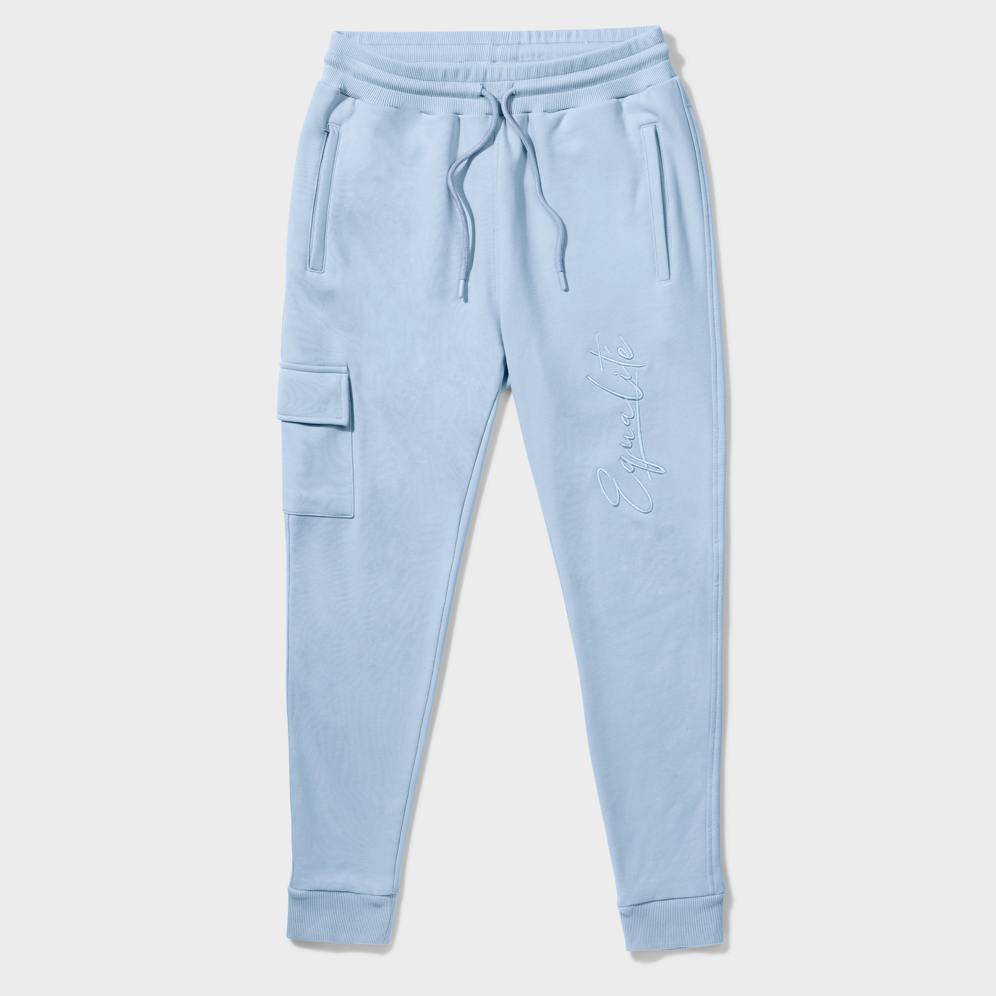 Wafi Signature Pants Light Blue-1