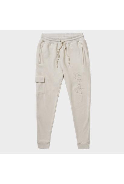 Wafi Signature Pants Beige