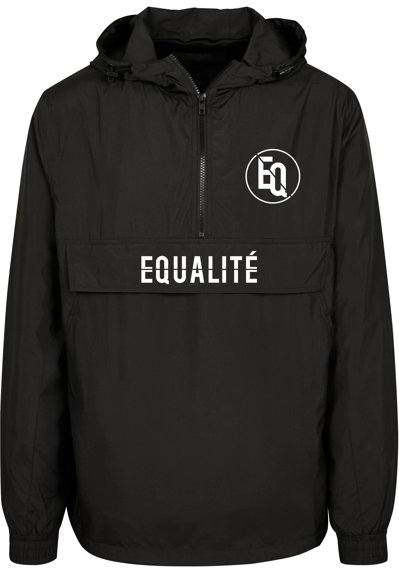EQUALITÉ BLOCK TRACKSUIT BLACK/BURGUNDY-1