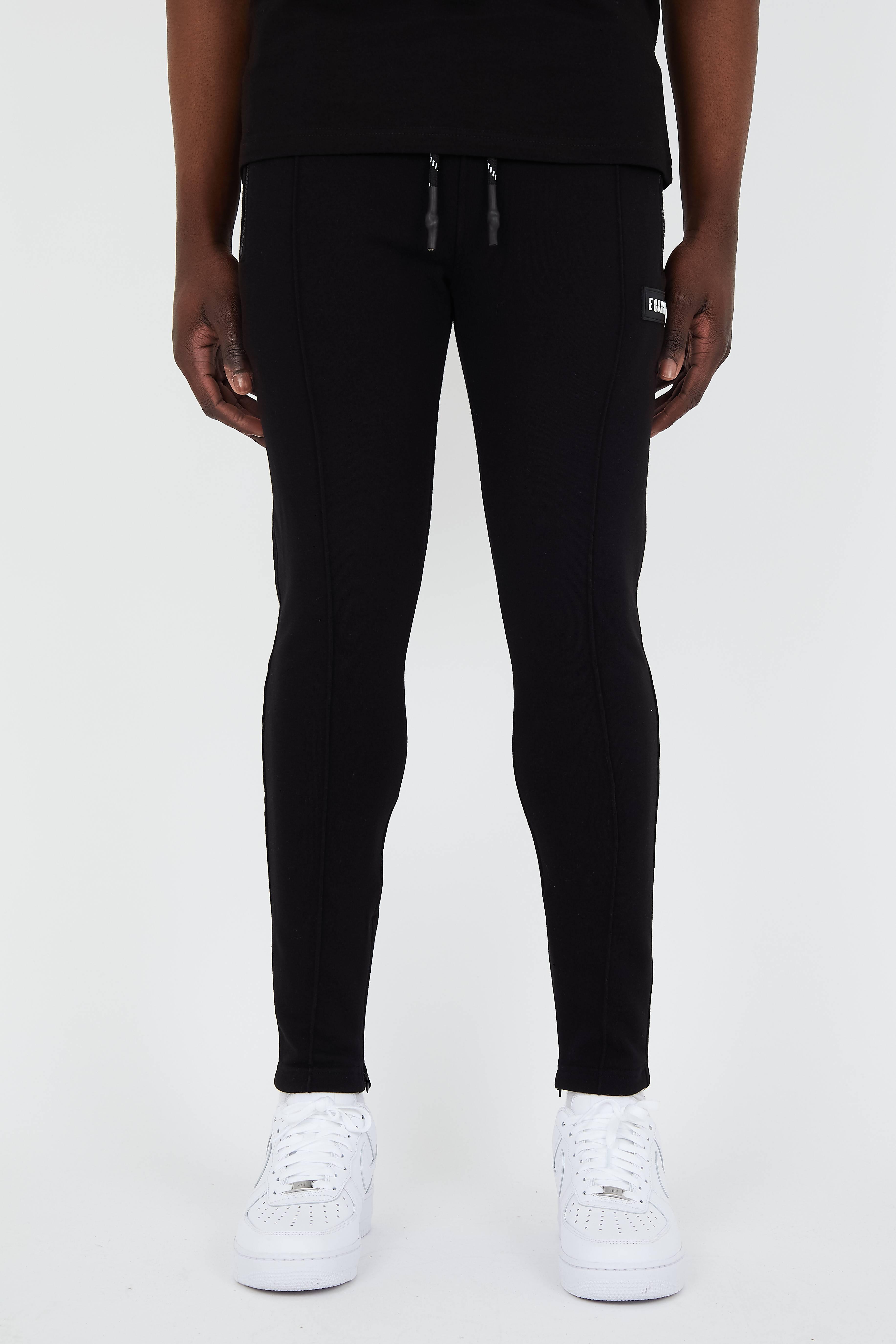 EQUALITÉ TRACK PANTS BLACK-1