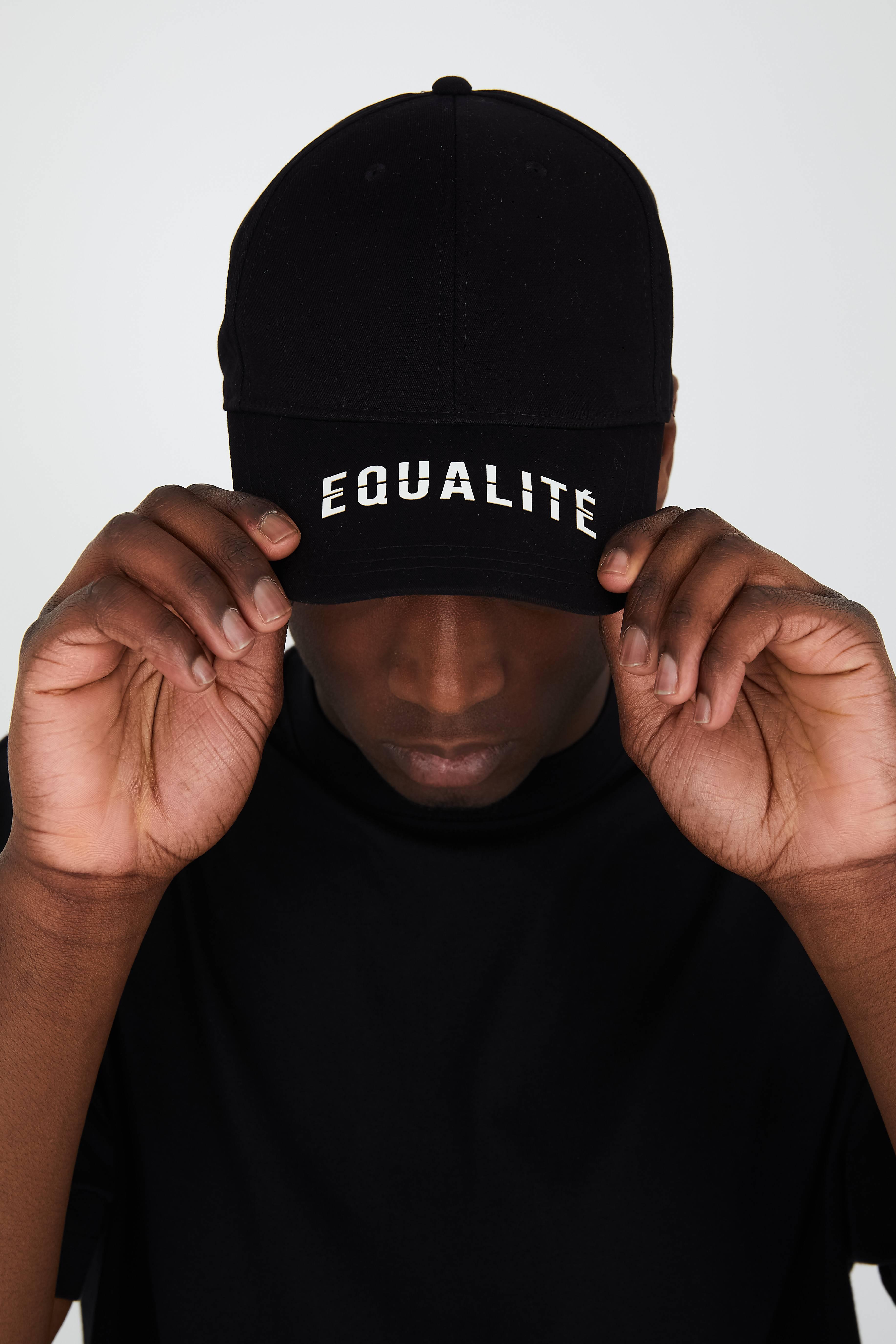EQUALITÉ CAP BLACK-1