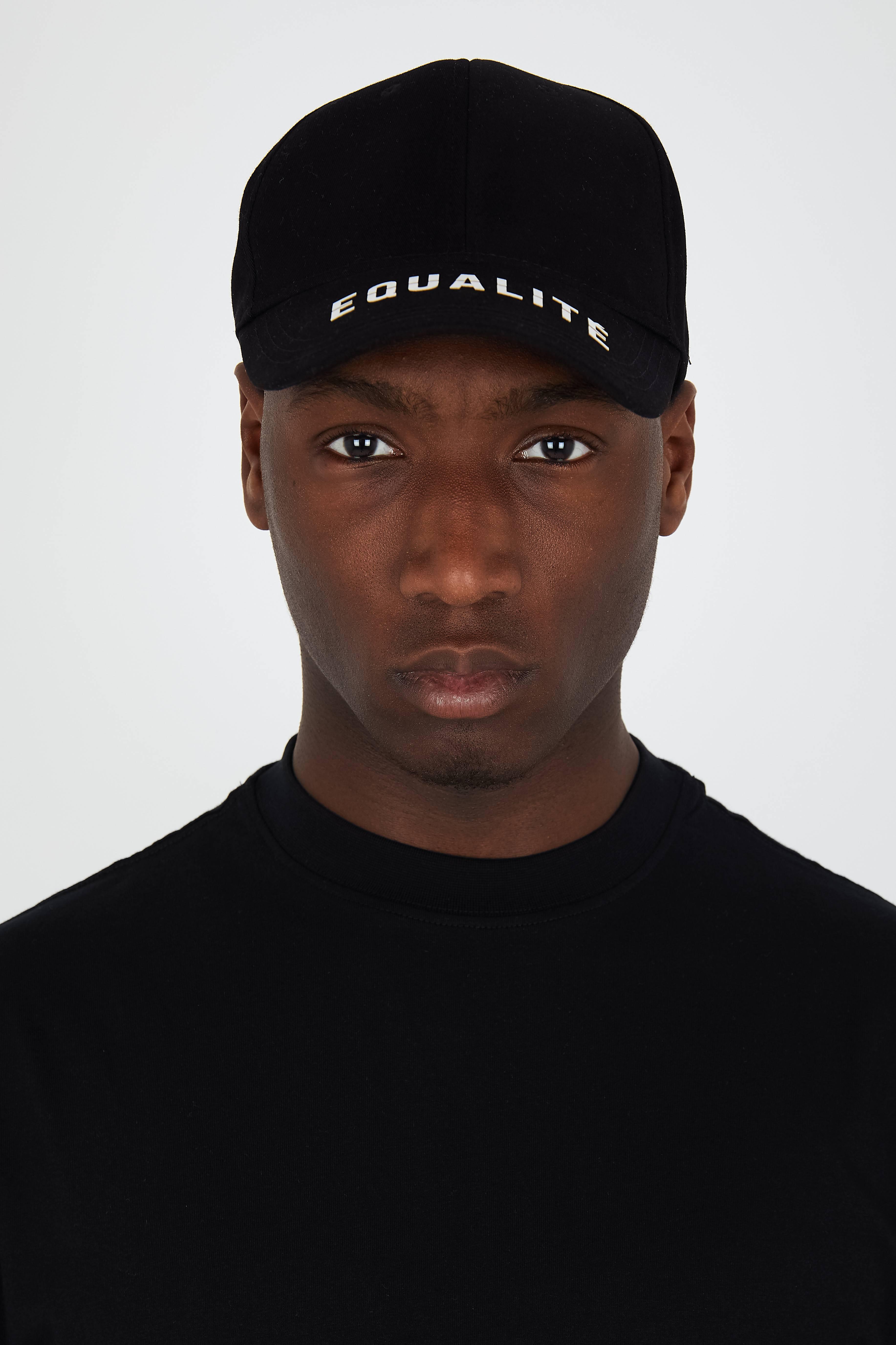 EQUALITÉ CAP BLACK-2