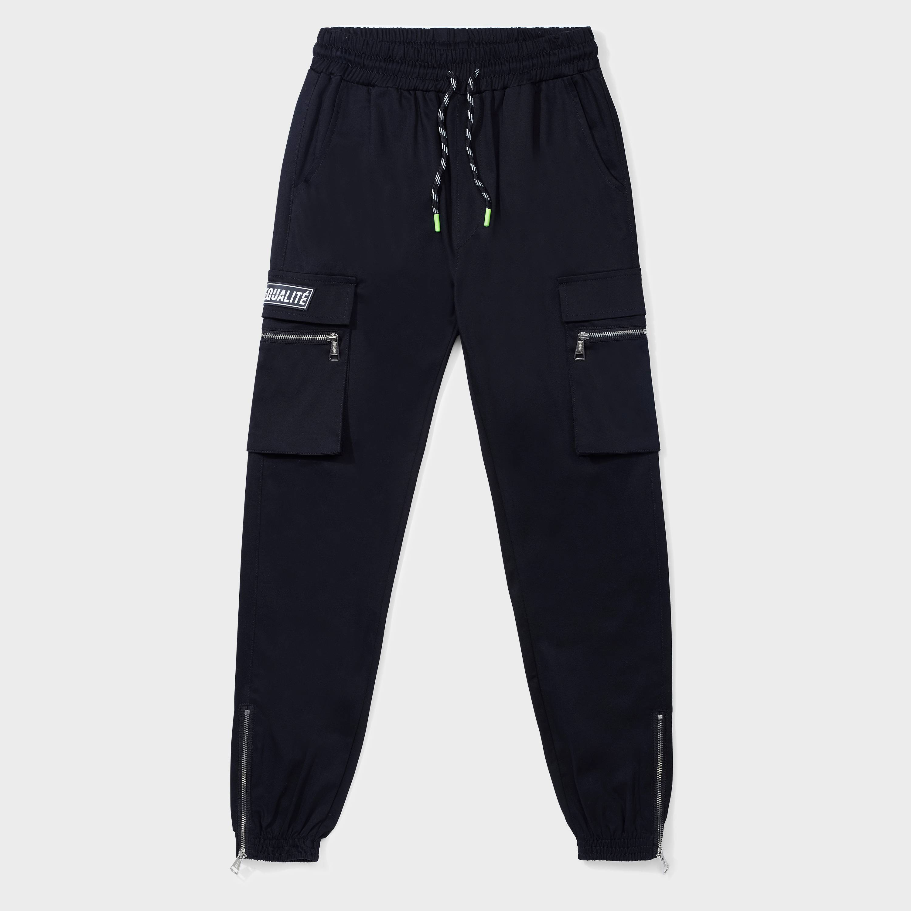 FUTURE CARGO PANTS BLACK-1