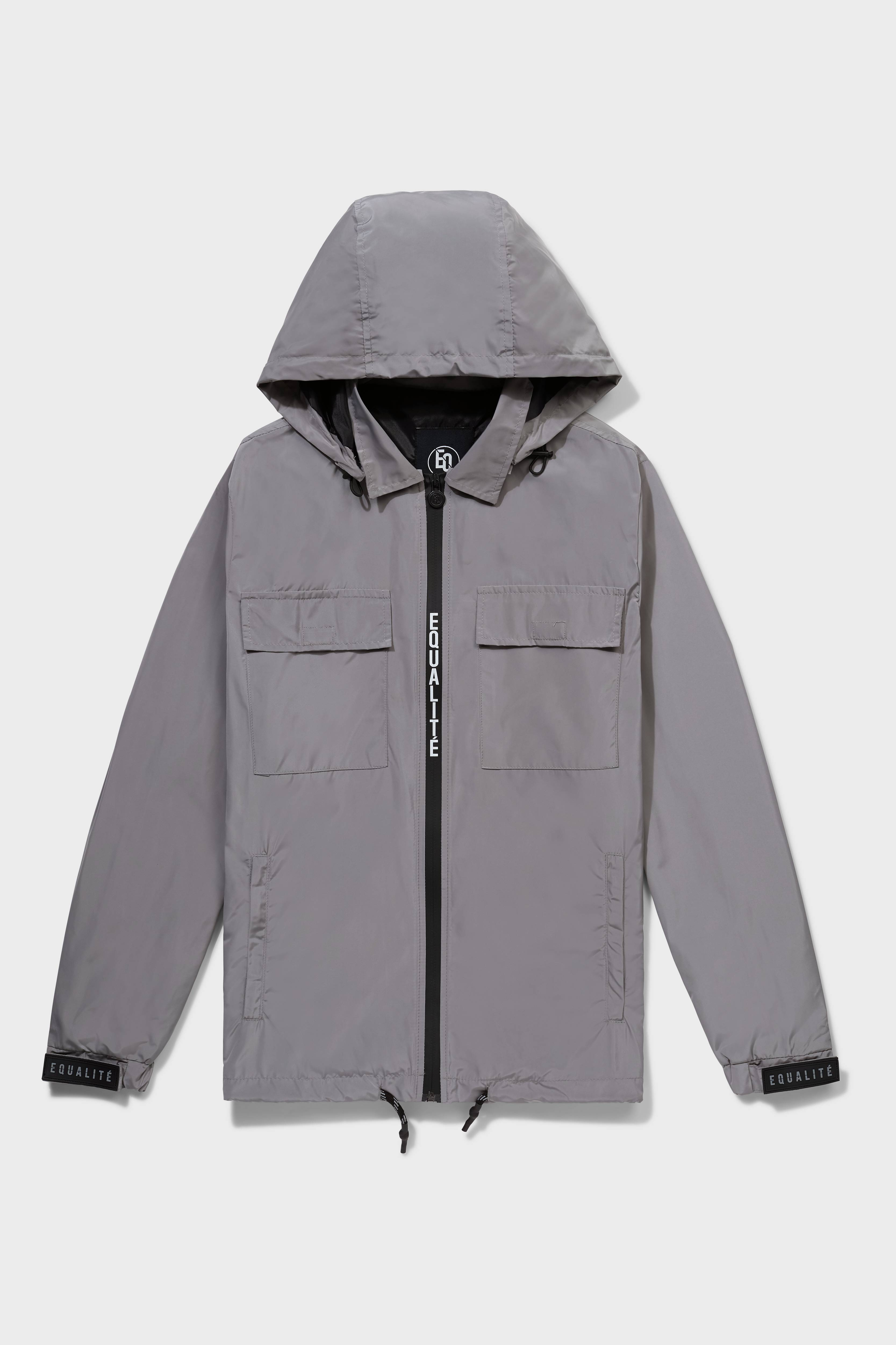 WINDBREAKER SILVER GREY-1
