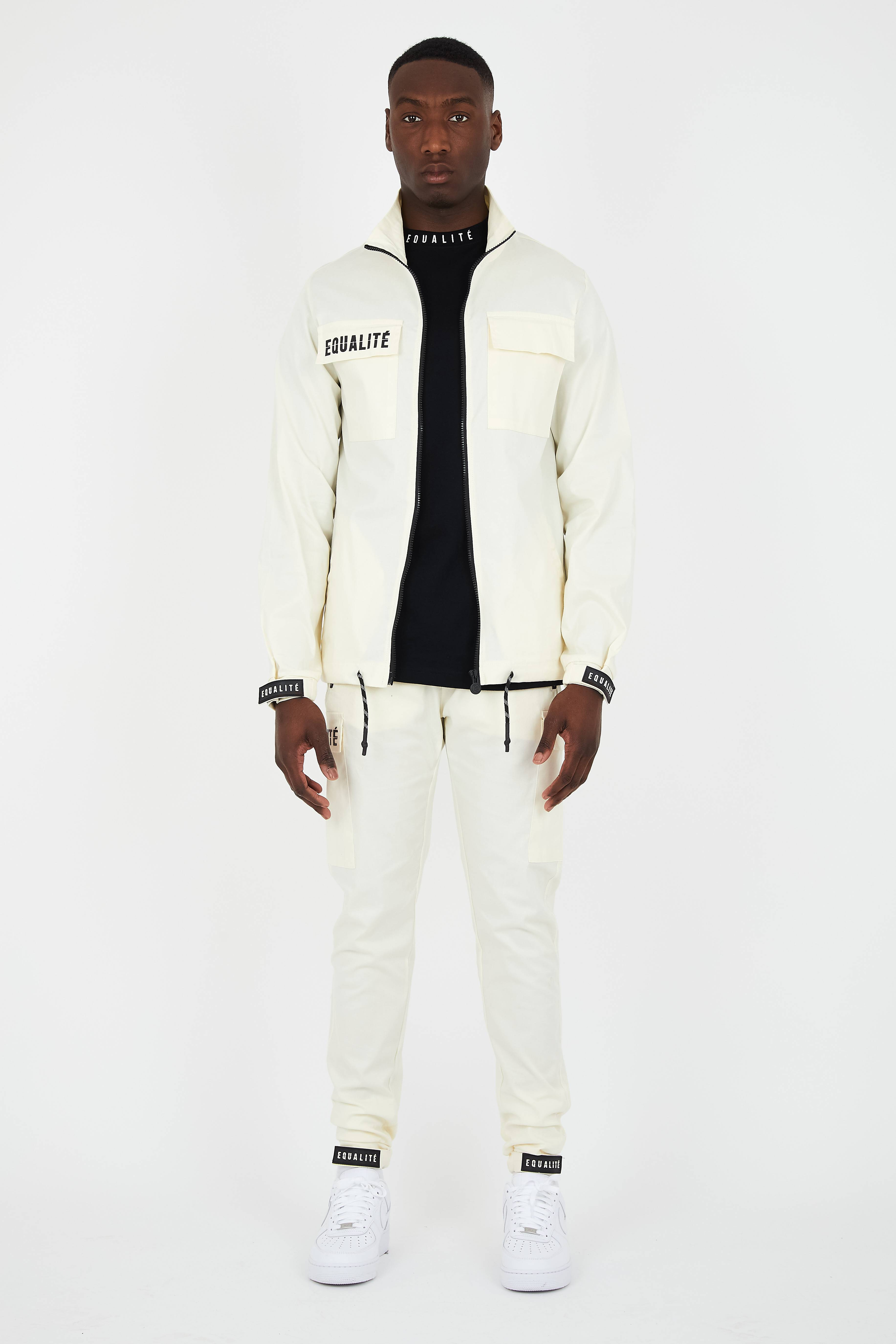 EQUALITÉ CARGO TRACKSUIT 2.0 OFF-WHITE-1