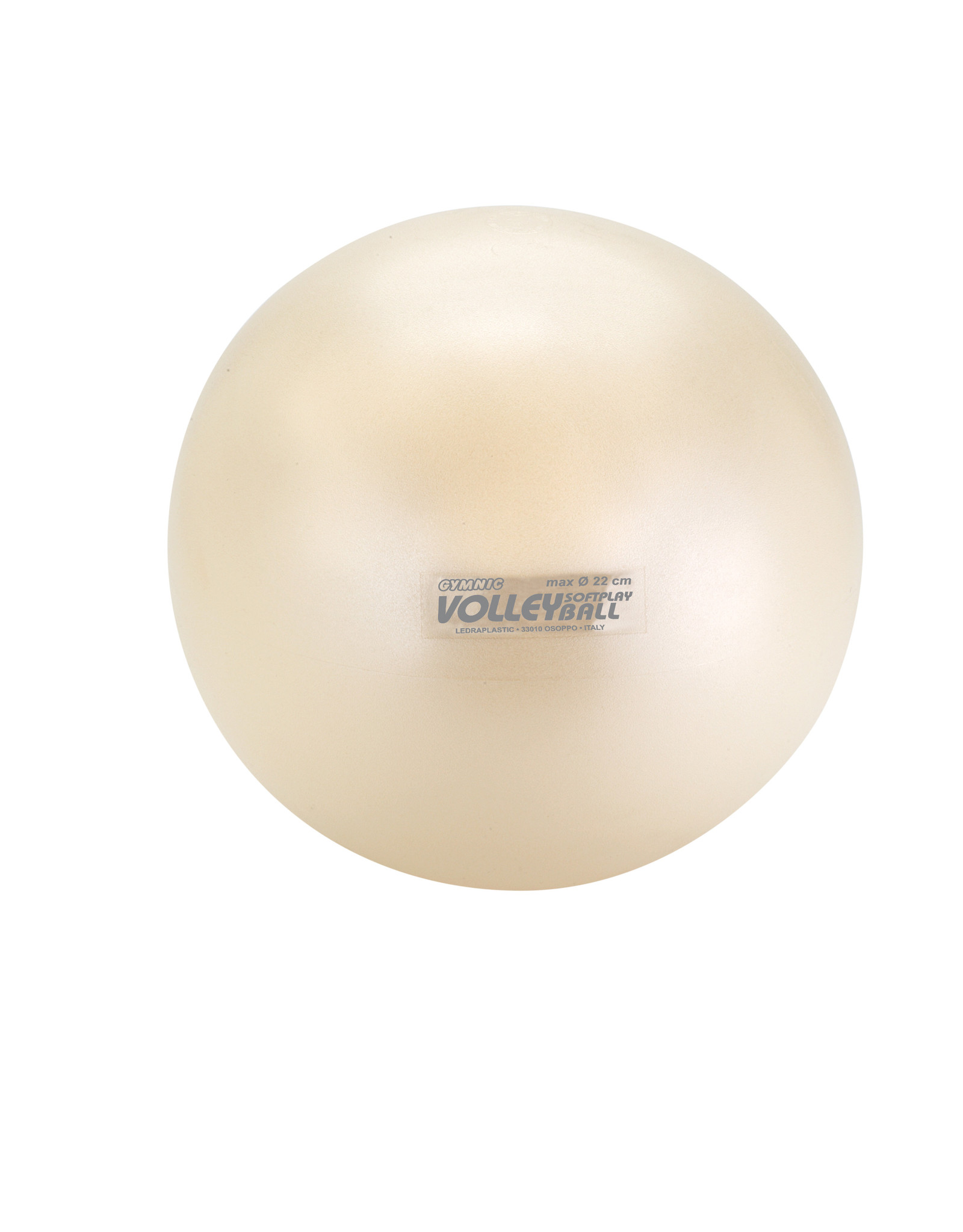 Gymnic Softplay Volley / WT / deflated