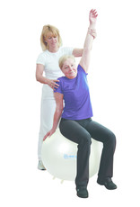 Gymnic Sit'n'Gym PERLA 65 BRQ / WT