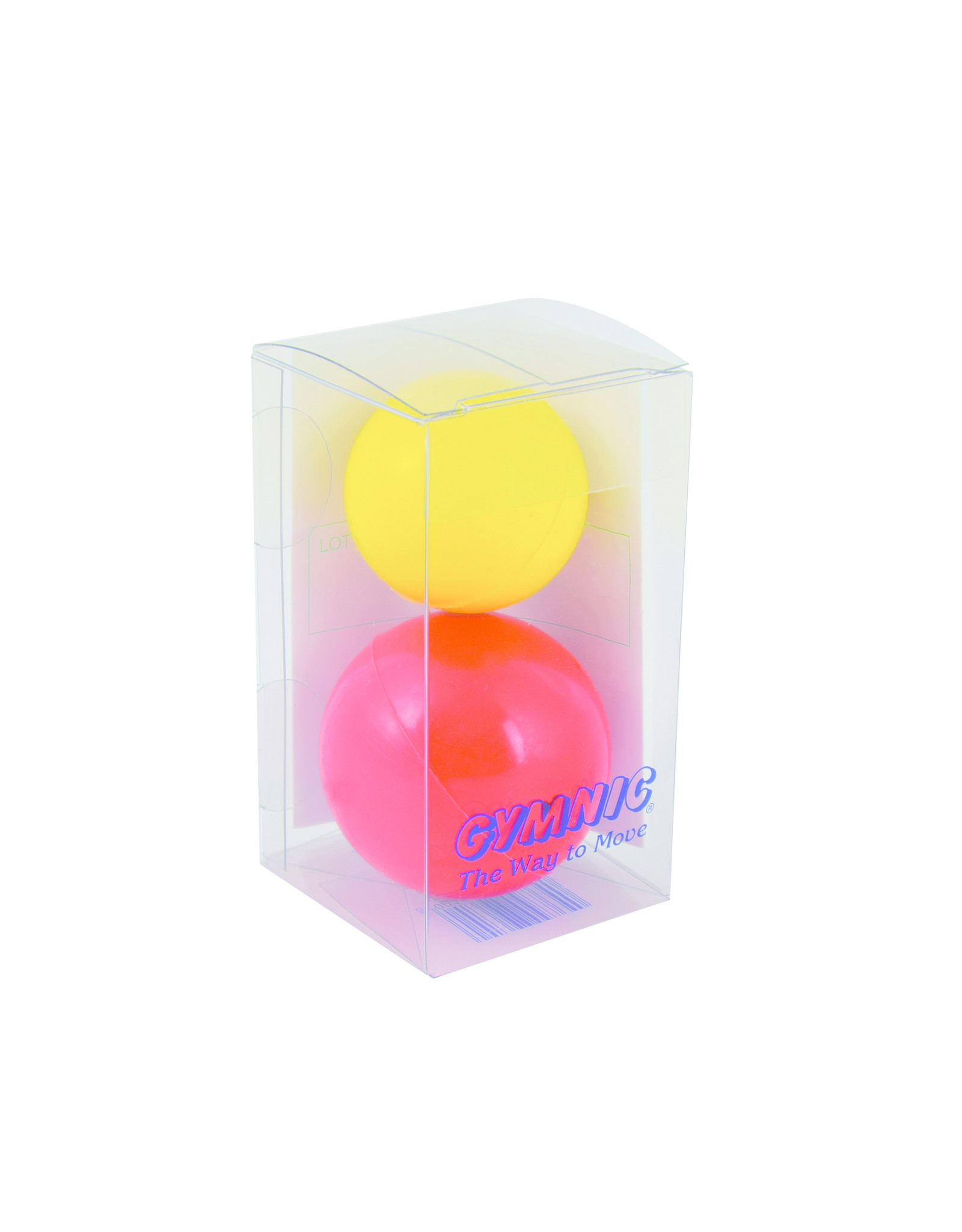 Gymnic Thera Freeballs Hand / 1R-1Y / set of 2 pcs