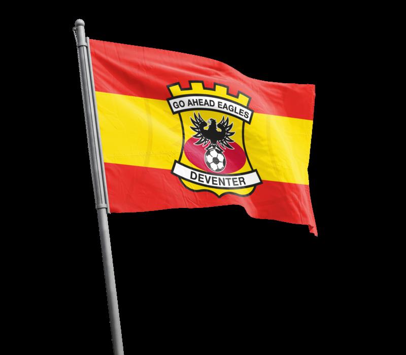 Supportersvlag - Rood/Geel