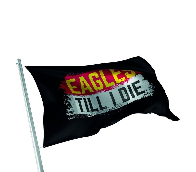 Supportersvlag Eagles Till I Die