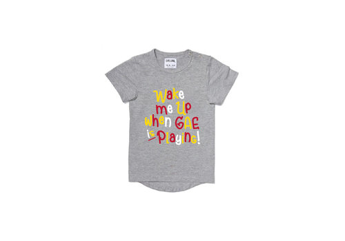 Brand Specials T-shirt 12-18 maand - Wake me up