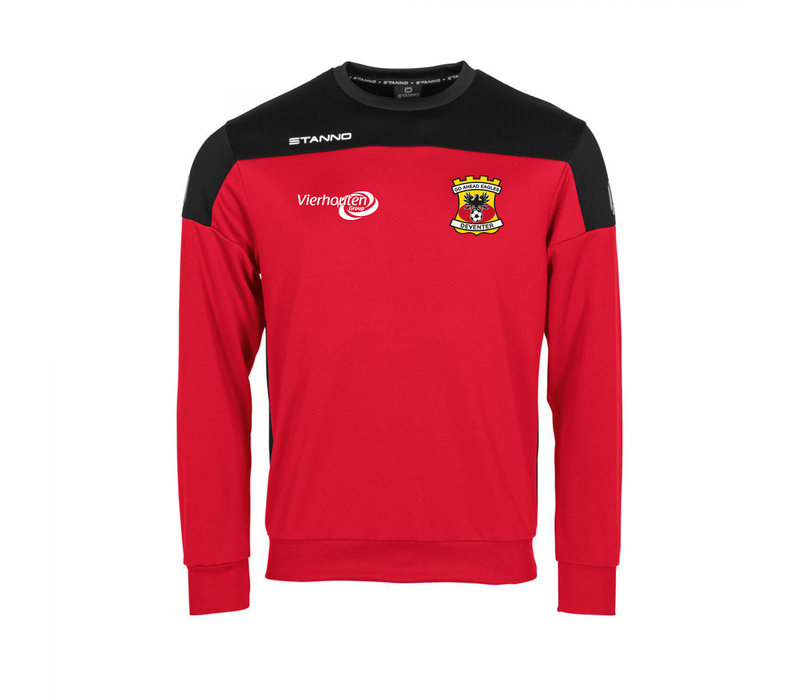 Stanno Sweater Thuis, rood 2020/2021