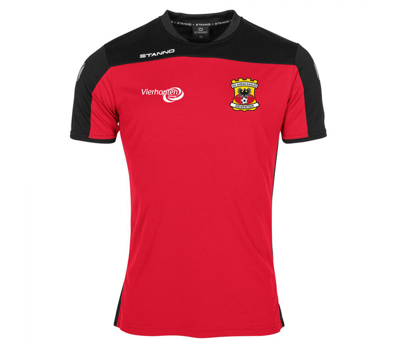 Stanno T-shirt, rood 2020/2021 - Junior