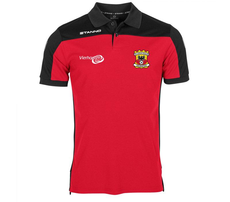Stanno Poloshirt, rood 2020/2021 - Senior