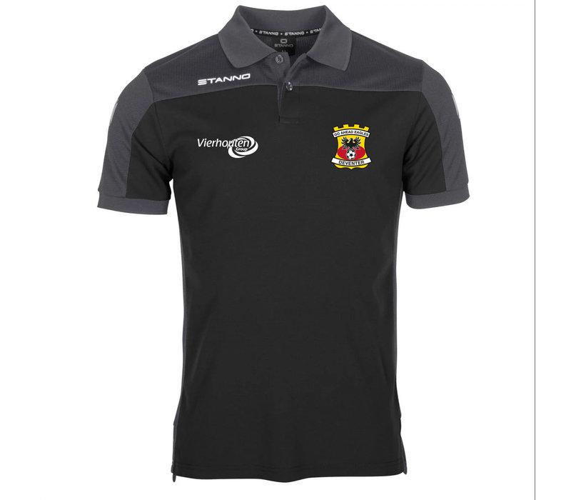 Stanno Poloshirt, zwart 2020/2021 - Senior